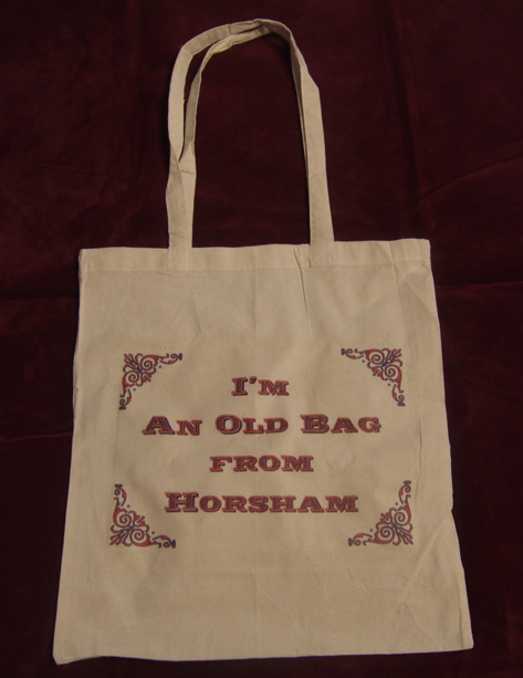 Personalized Cotton Shopping Bags - I'm an old bag from - Cotton Shopper