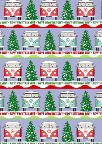 Personalised Wrapping Paper Christmas2